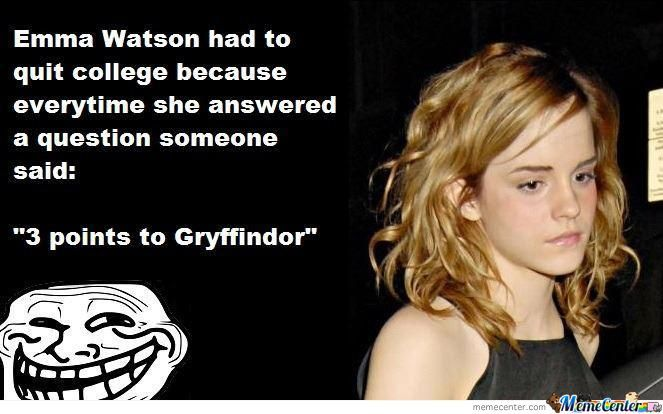 3 Points To Griffindor
