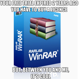 3 Things Are Infinite: Universe, Human Stupidity And Winrar