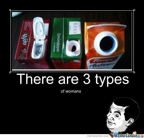 3 Types Of Womans