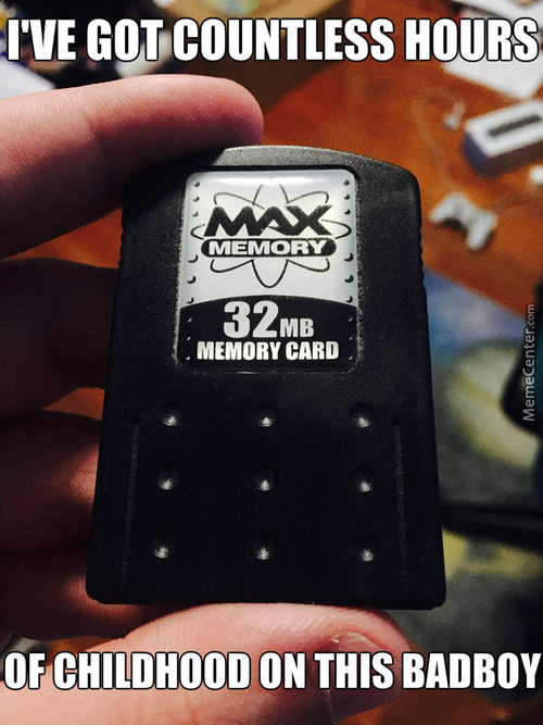 32Meg Playstaion 2 Memory Card, In Case You Don't Know