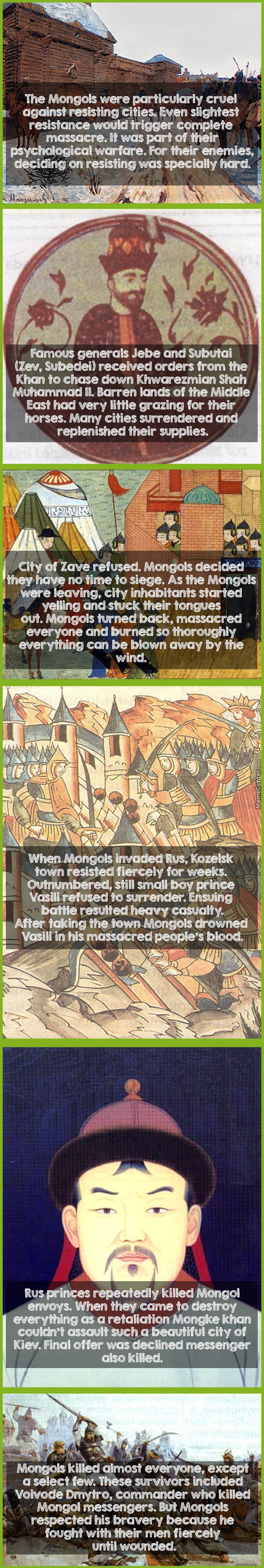 #33 Psychological Warfare Of The Mongols
