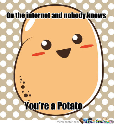 35% Of Internet User Are Potatoes