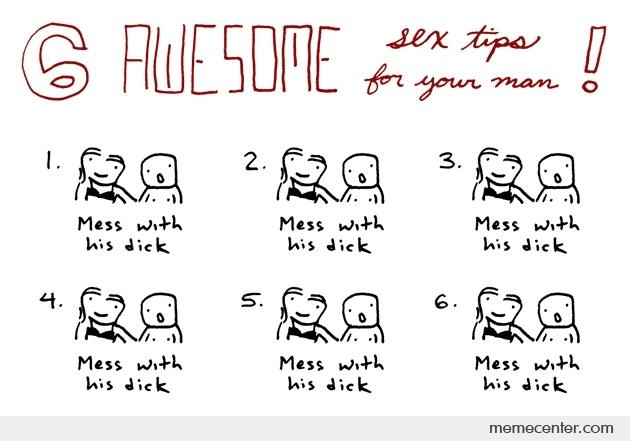 Sex tips for your man