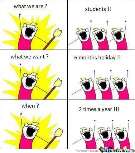 6 Months Holiday 2 Times A Year !!!