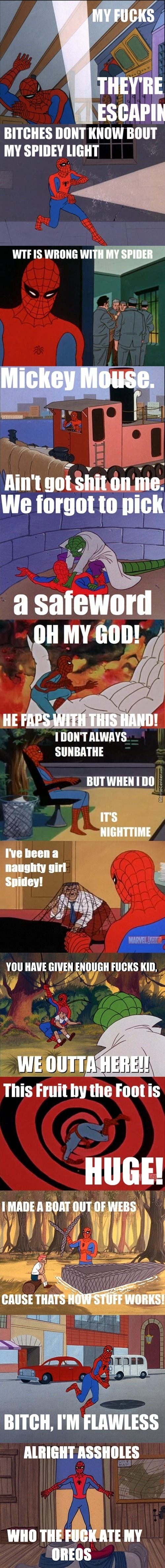 60's Spiderman Strikes Again!