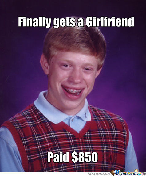 $850 For A Girlfriend