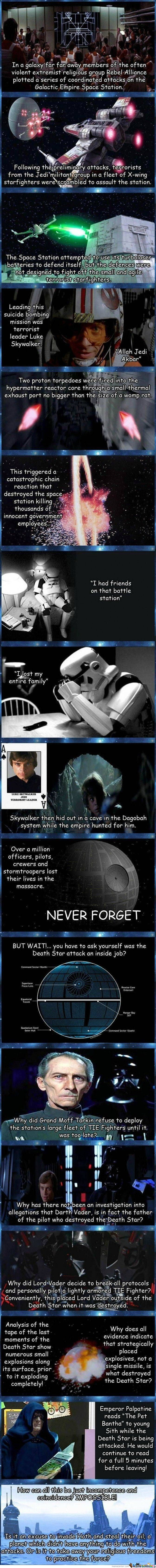 9/11 Conspiracy: Star Wars Version