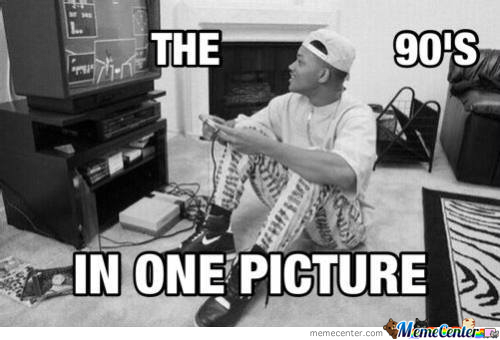 90S In One Pic