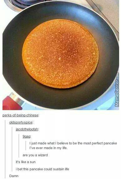 9Gag May Be One Of The Most Hated Websites On The Internet, But It Sure Can Make A Damn Fine Pancake
