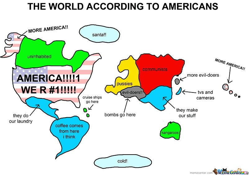 According to Americans