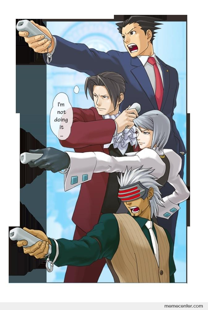 Ace Attorney_o_24373 ace attorney by ben meme center
