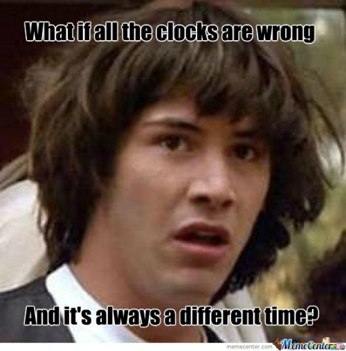 All the Clocks