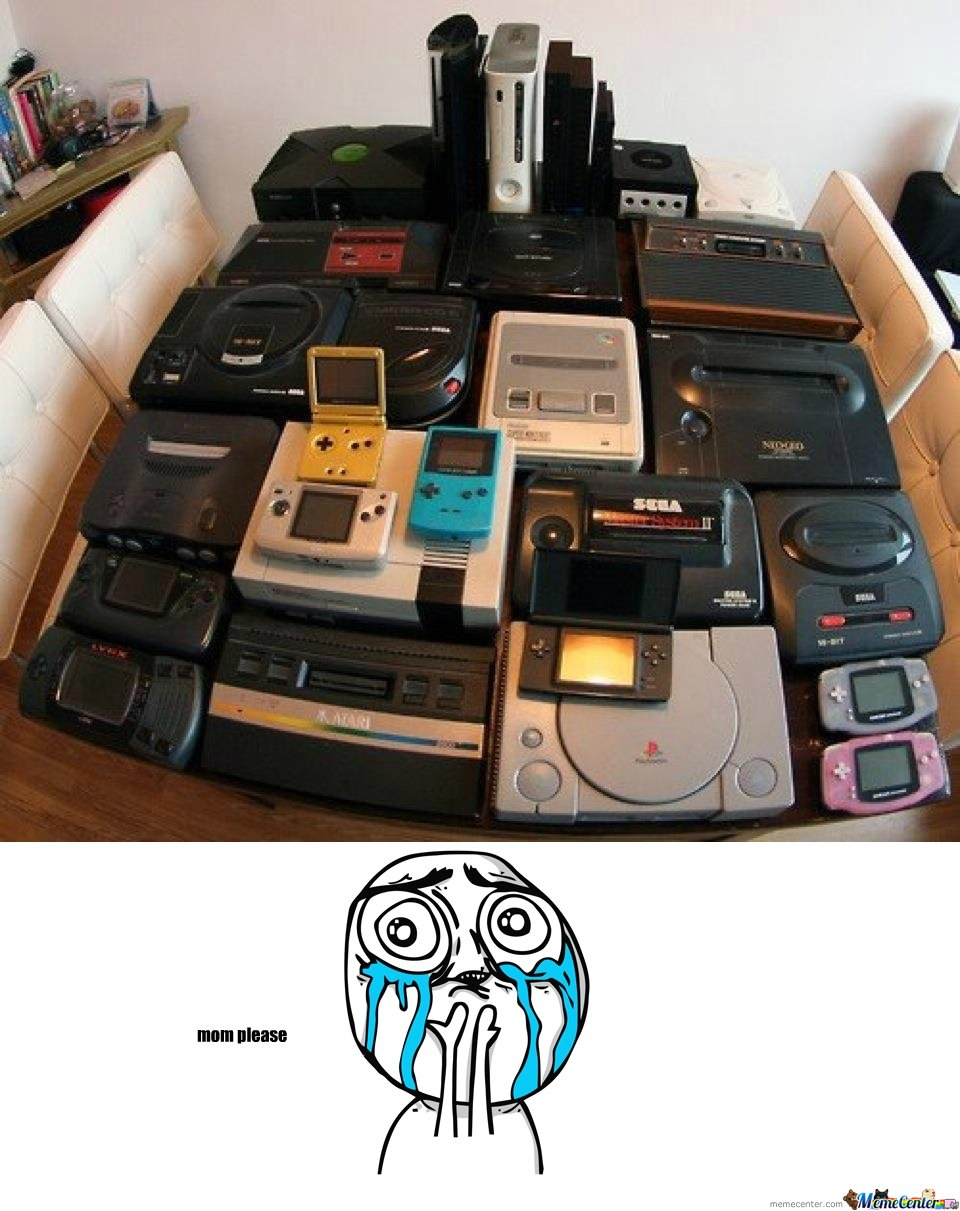 All the games consoles
