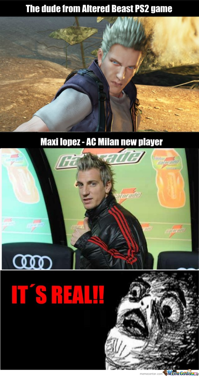 Altered Beast Maxi lopez