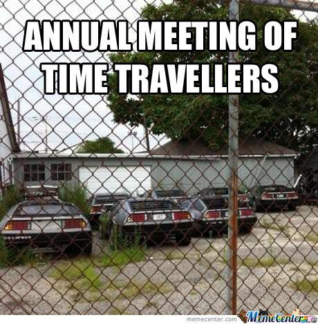 Annual Meeting Of Time Travelers