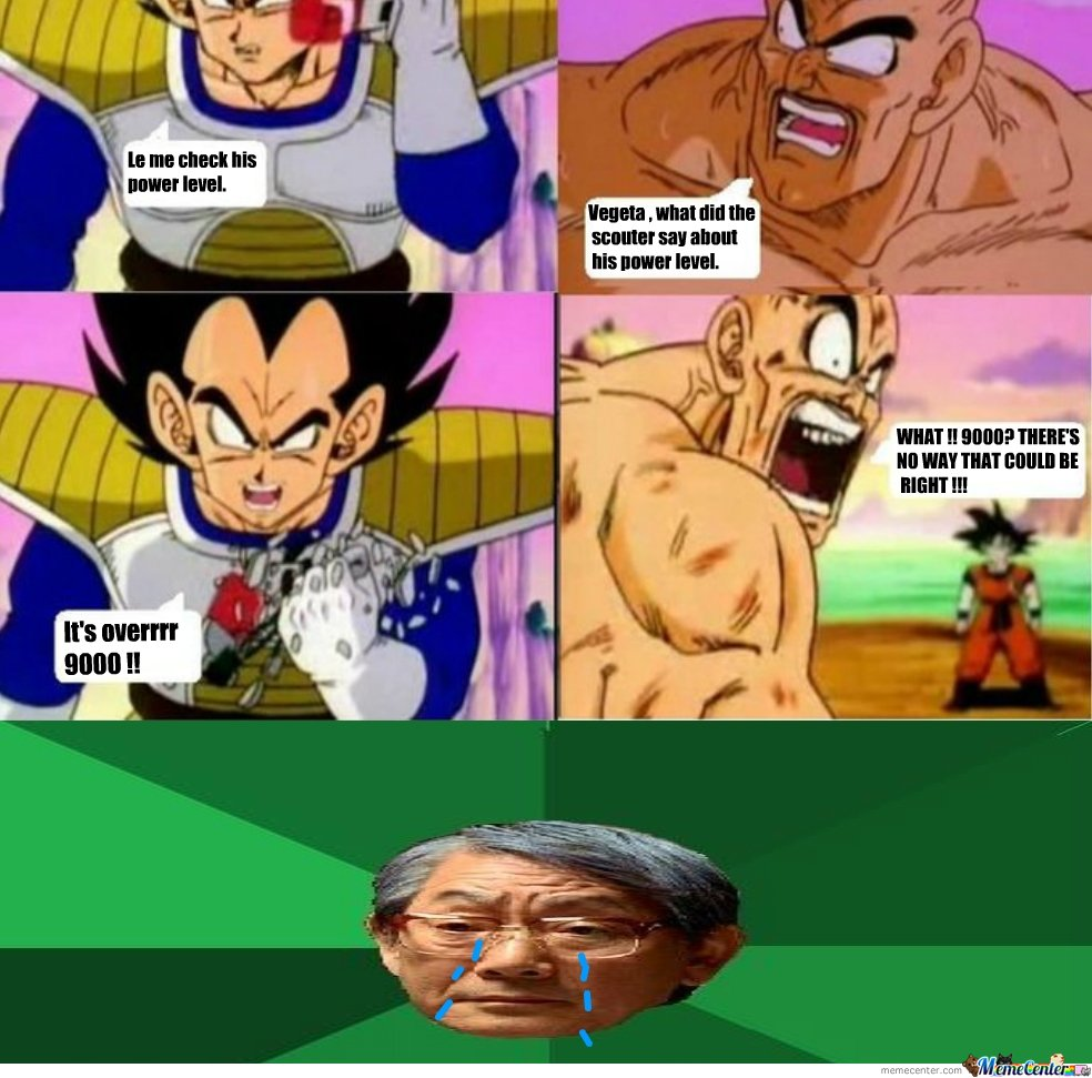 Asian Expectation It's over 9000!