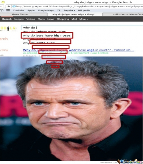 Asked Mel Gibson