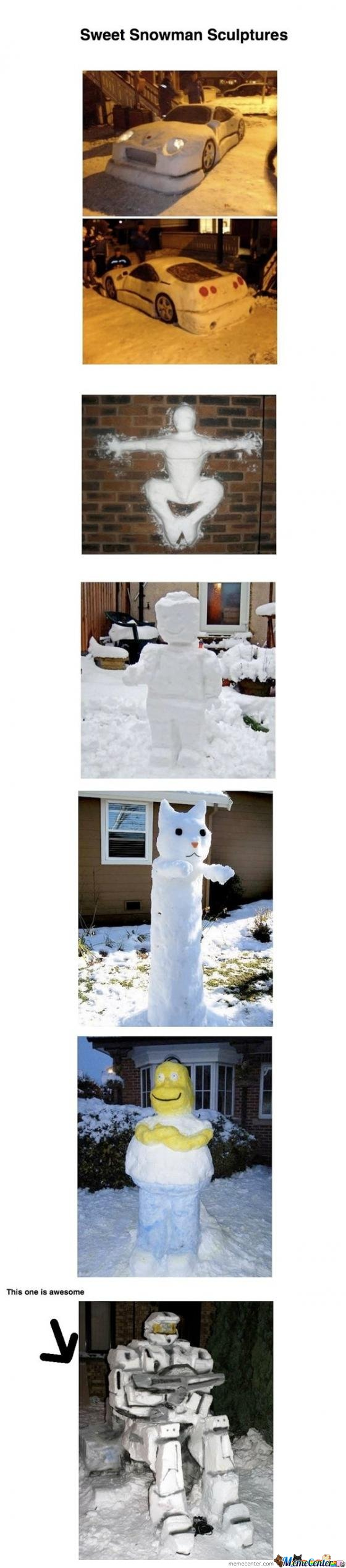 Awesome Snowman Comp