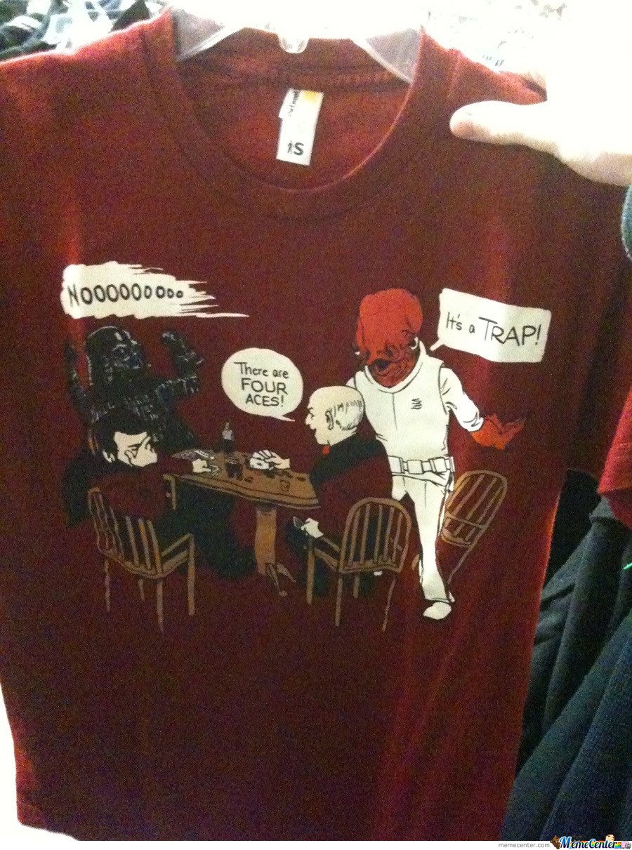 Awesome star wars t-shirt