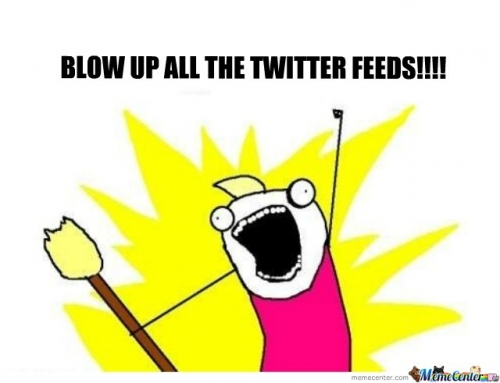 BLOW UP TWITTER FEEDS!!