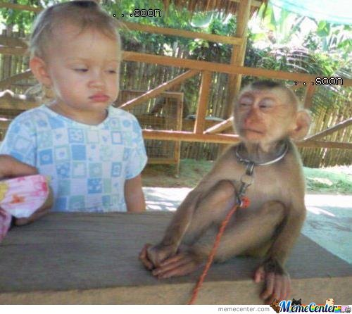 Baby Vs Monkey: Soon