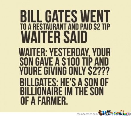 Bill Gates Tip