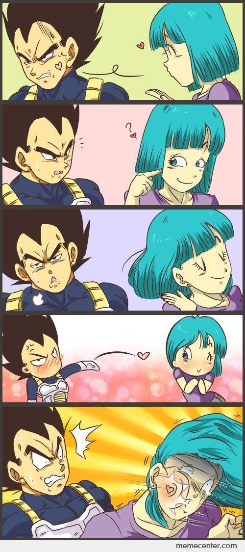 Blowing Kisses Dragon Ball Style