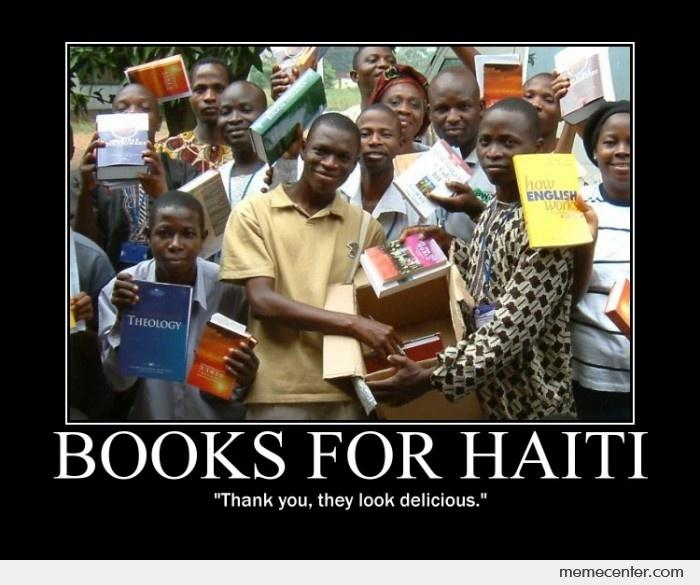 Books for Haiti