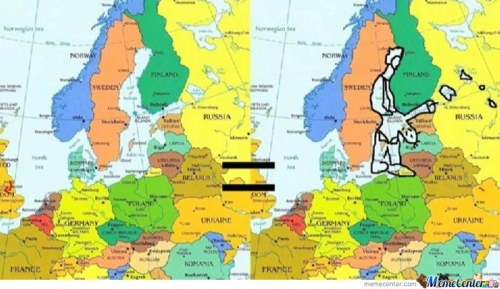 Can Not Be Unseen Europe Map