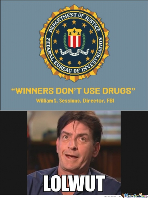 Charlie Sheen - Winners Dont Use Drugs