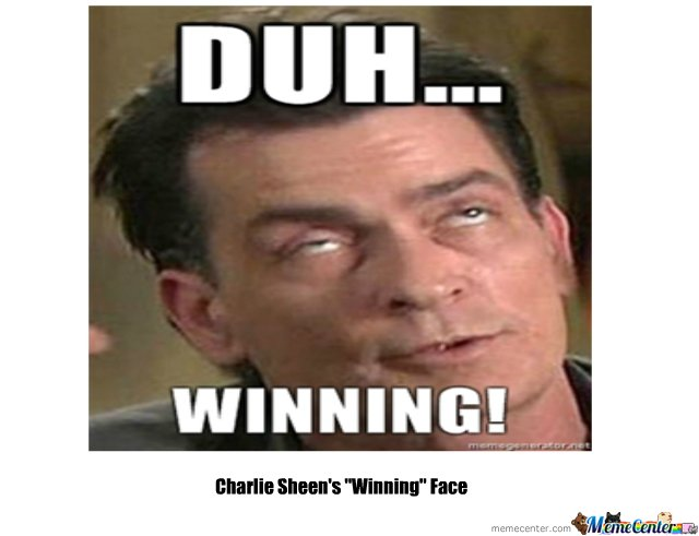 Charlie Sheens Winning Face_o_116791 charlie sheen's \