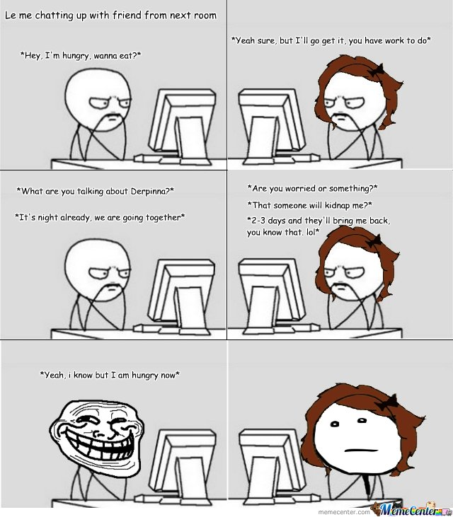 chat room troll