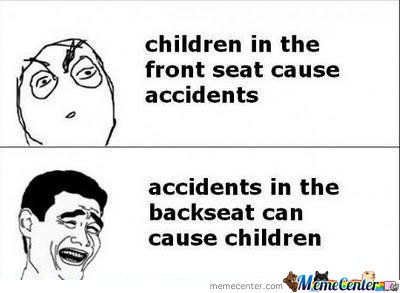 Children In The Front Seat