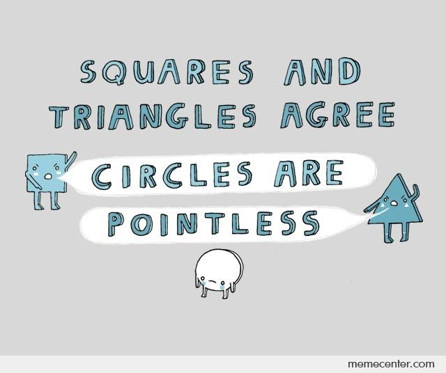 Circles are Pointless