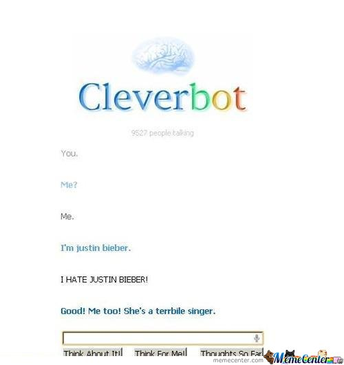 CleverBot Got It Right