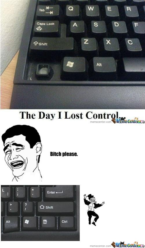 Control not quite lost