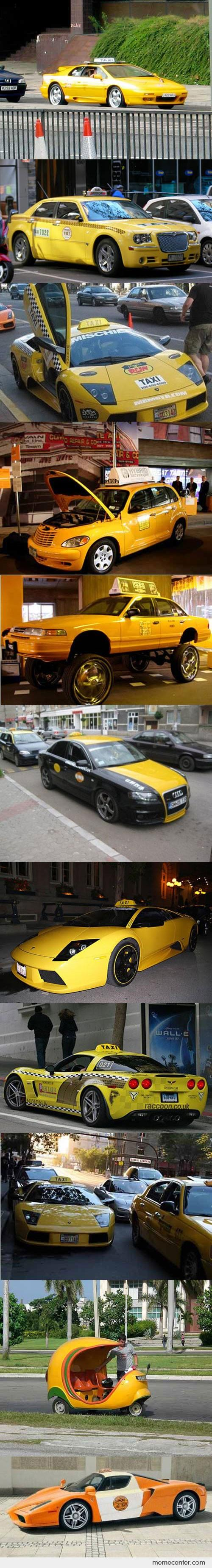 Cool Taxis Around The World