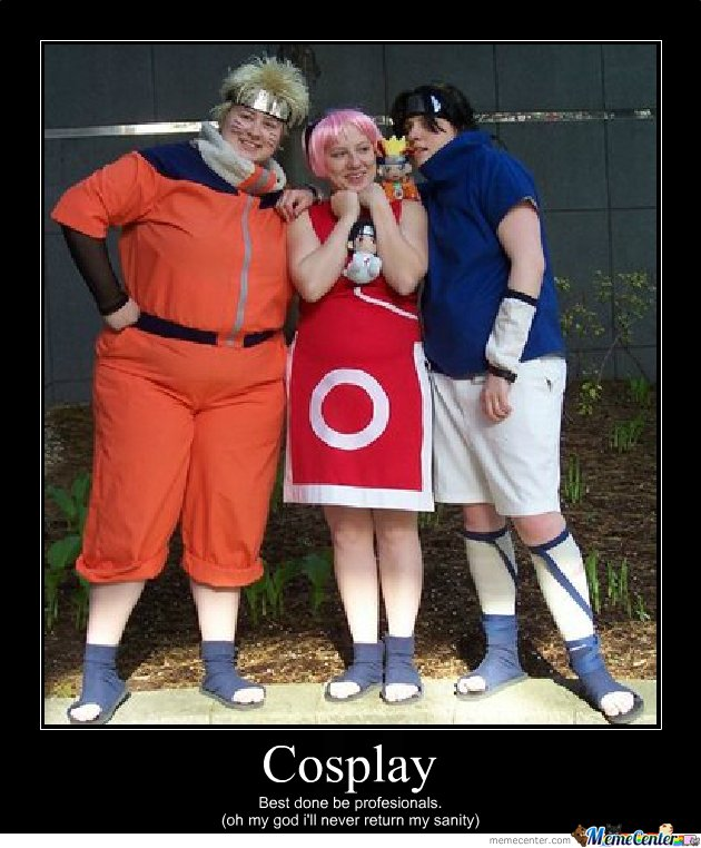 Cosplay Fail By Impirias131 Meme Center