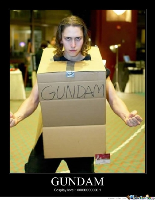 Cosplay, sometime fails...