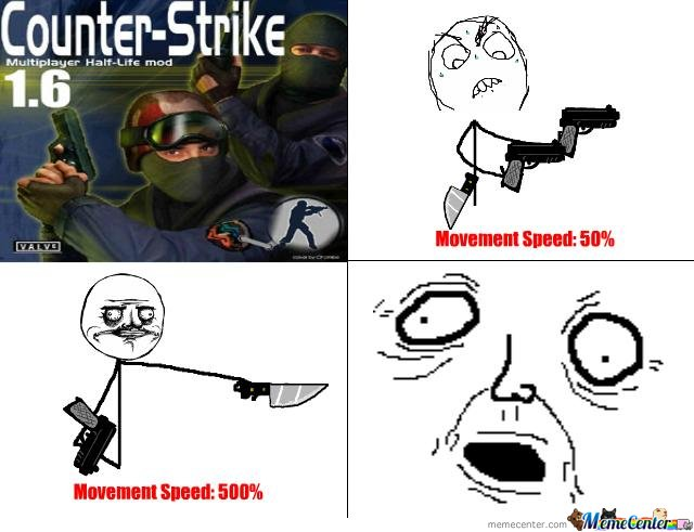Counter Strike 1.6 Logic