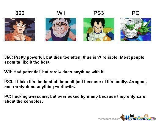 DBZ game systems