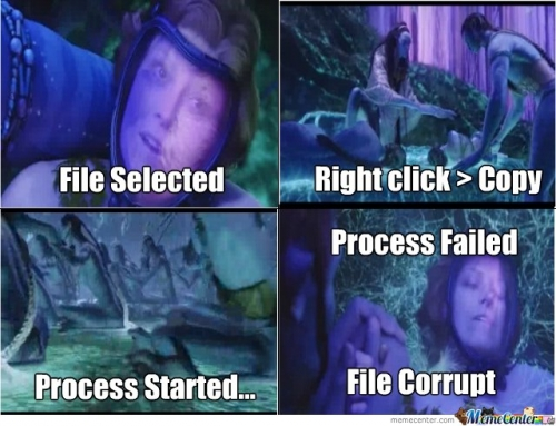 Doctor Grace's file is corrupt