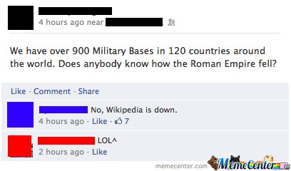 Does anybody know how the Roman Empire fell?