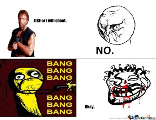 Dont disobey Chuck Norris