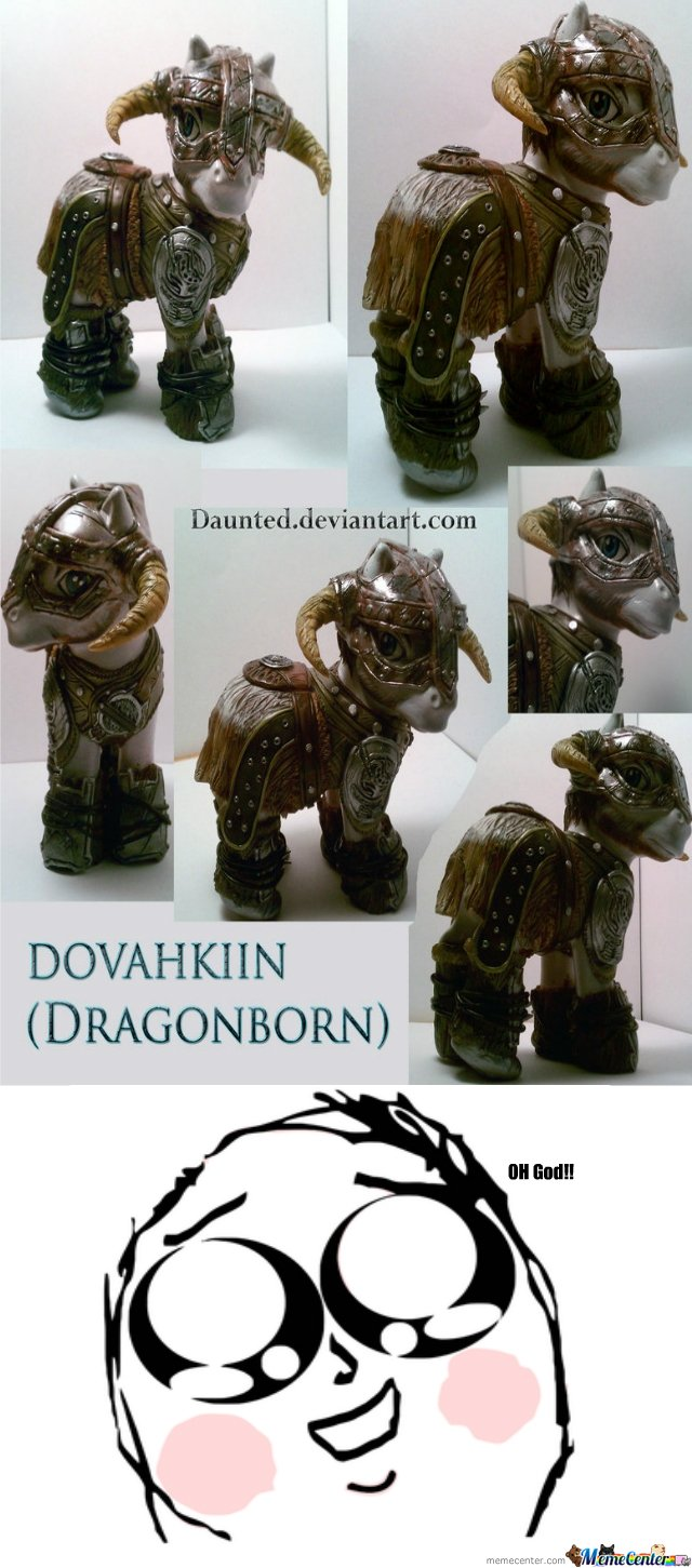 Dragonborn Pony