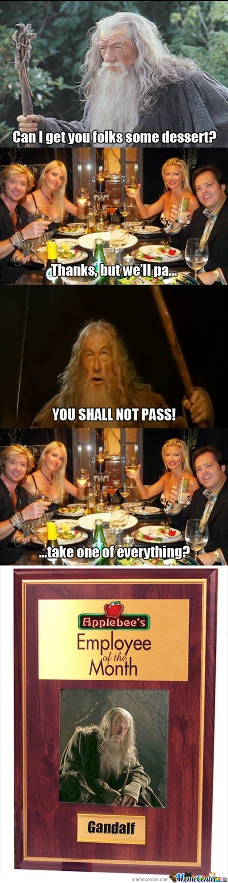 Employee of the month - Gandalf