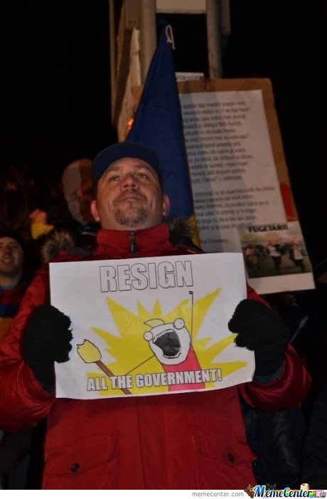 Epic protest is epic! Resign ALL the government