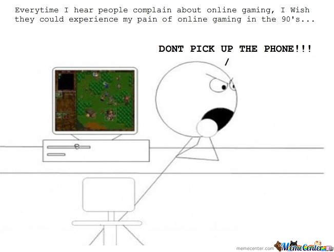 Every Time I Hear People Complain About Online Gaming