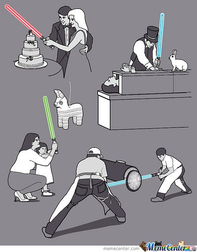 Everyday Lightsabers