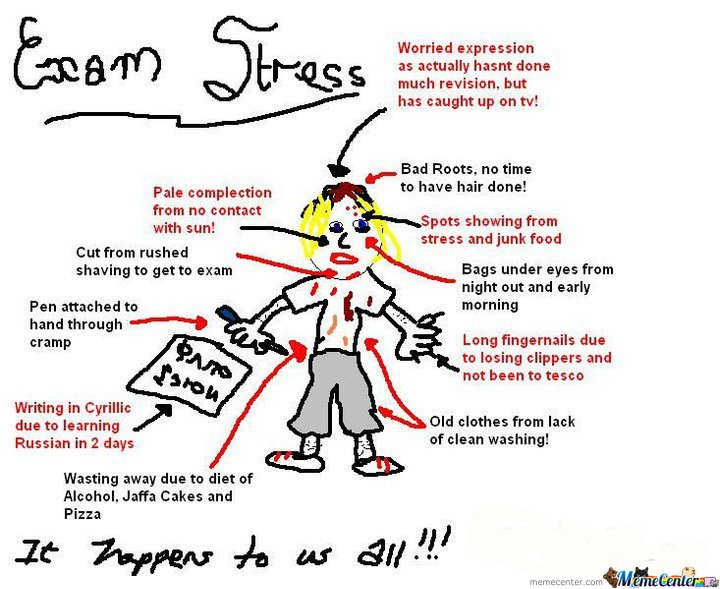 Exam stress by theencoder meme center exam stress thecheapjerseys Image collections